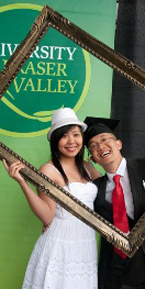 Win Nguyen celebrates his graduation - Convocation 2011