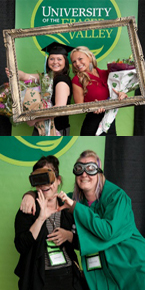 The photo booth at Convocation 2011 was very popular with grads and staff!
