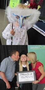 Family members of all ages joined their grads at Convocation 2011