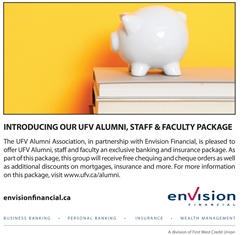 Envision benefits for UFV Alumni, Staff and Faculty