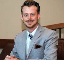 2012 Young Distinguished Alumni award recipient Alex McAulay, BBA